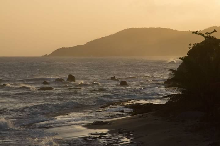 The Caribbean Sea viewed from the area west of Esperanza on Vieques. Lowell Silverman photography