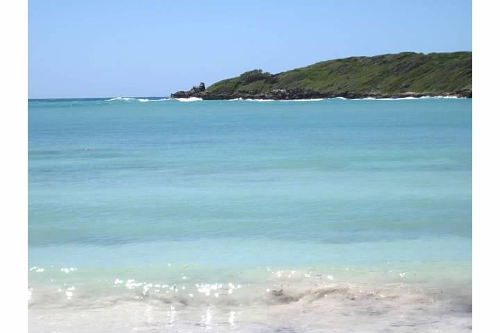 Media Luna, one of many beautiful beaches on Vieques