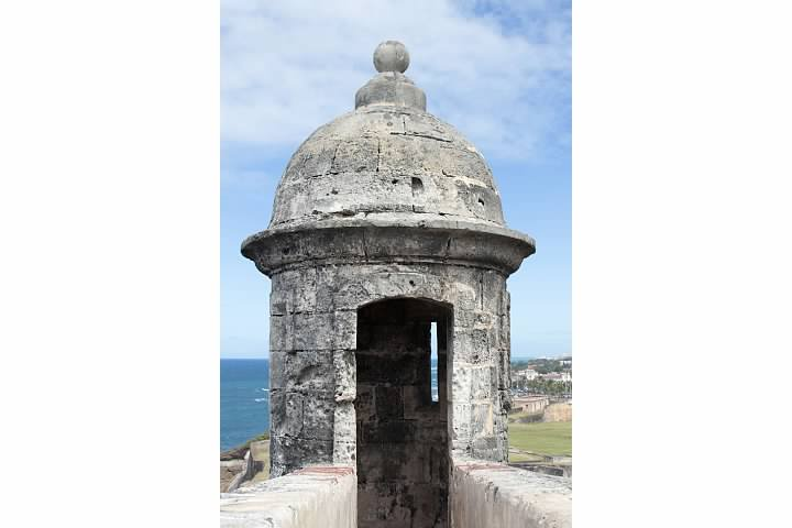 Sentry Box at Castillo San Cristóbal