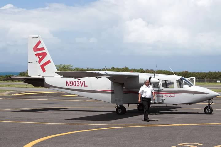 Vieques Air Link BN-2 Islander at VQS