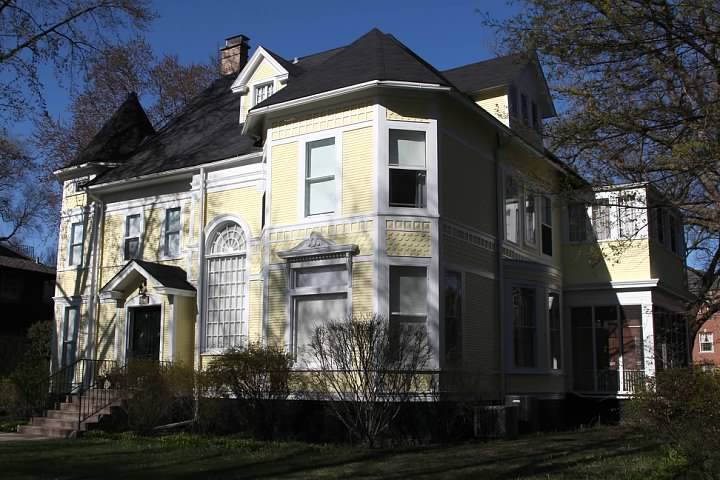 One of many beautiful homes in the Lakeshore Historic District
