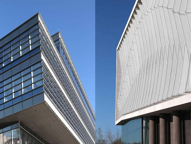 Modern Northwestern University buildings