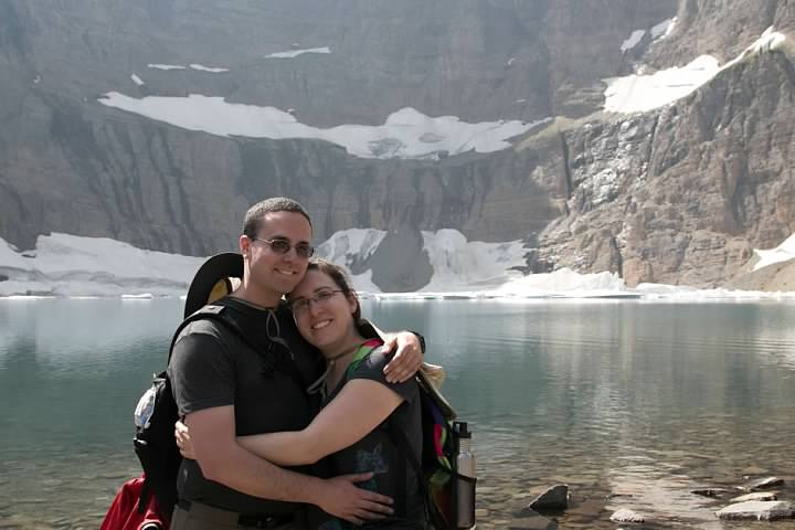At Iceberg Lake. Some random hiker photography, 2014