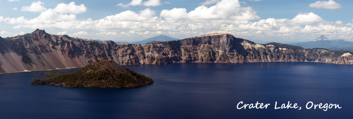 Crater Lake Banner