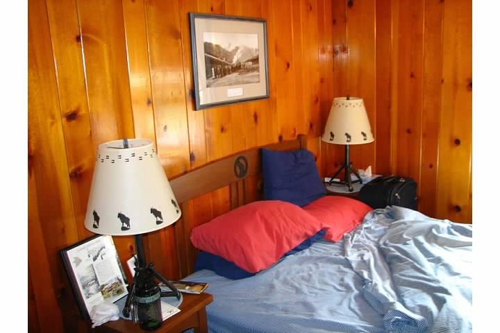 Room at the Izaak Walton Inn. Lowell Silverman photography, 2007