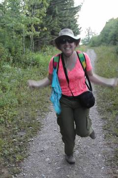 Rachel's Moose Dance on the Red Eagle Trail