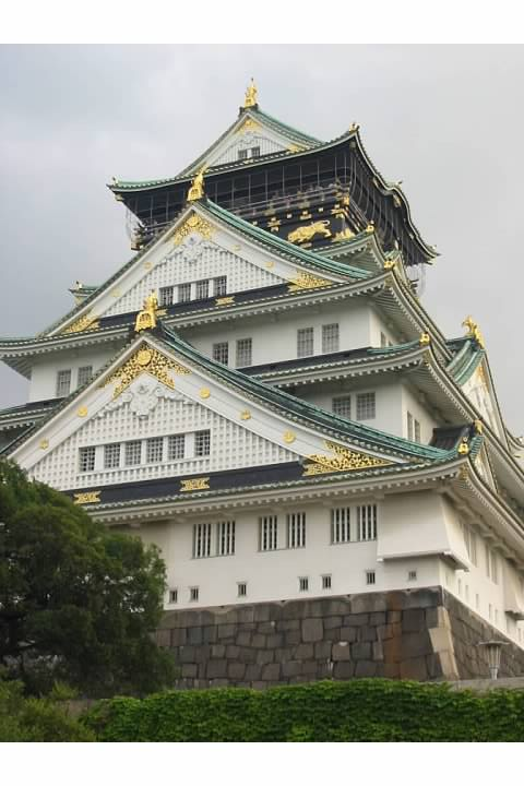 Osaka Castle...it looks good, but