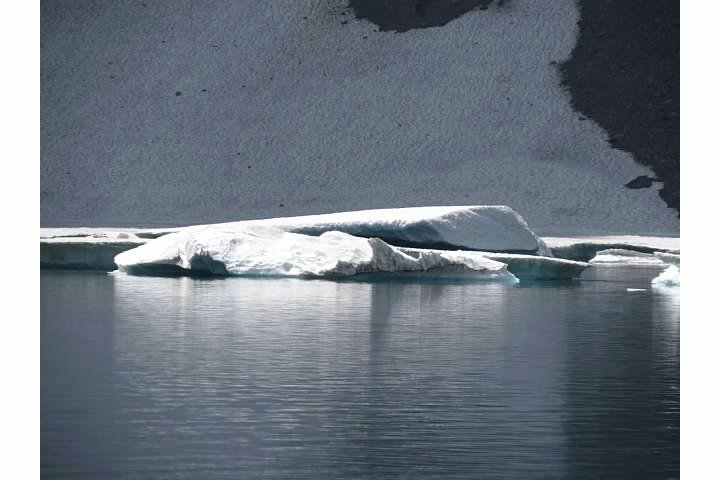 Close-up of icebergs