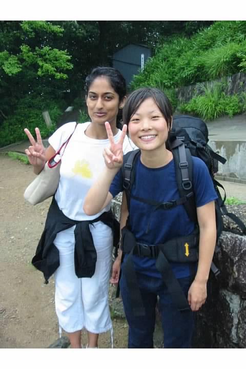 Samhitha and Yuki