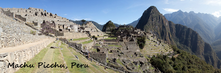 Machu Picchu Banner