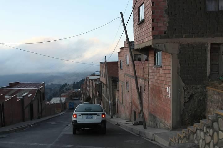Streets of El Alto