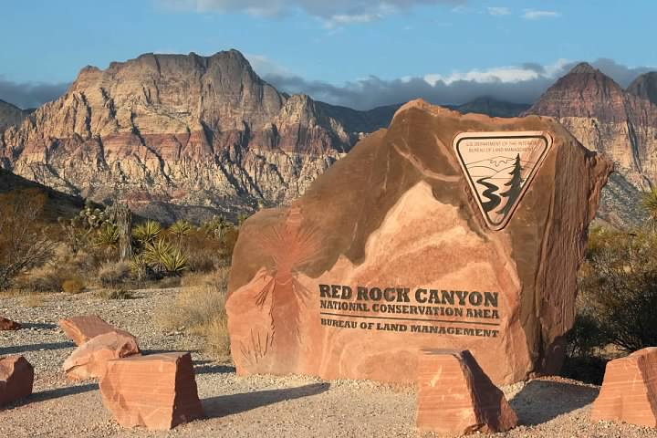 Entrance to Red Rock Canyon