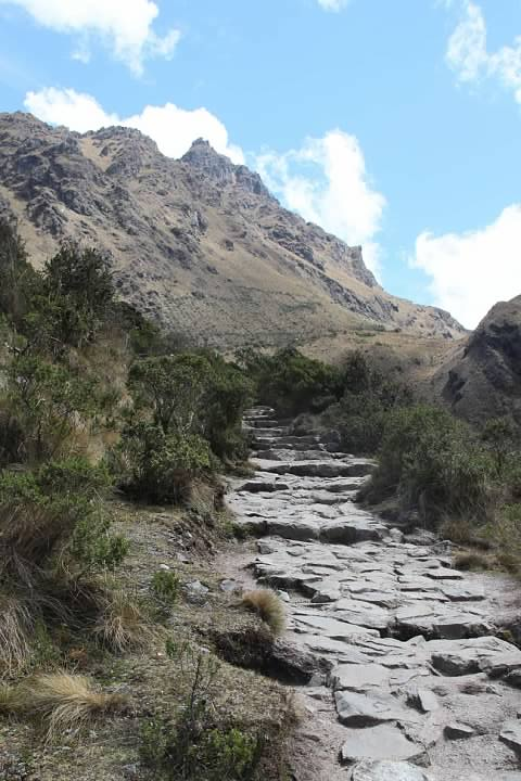 The trail to Warmi Wañusqa was something of an ordeal