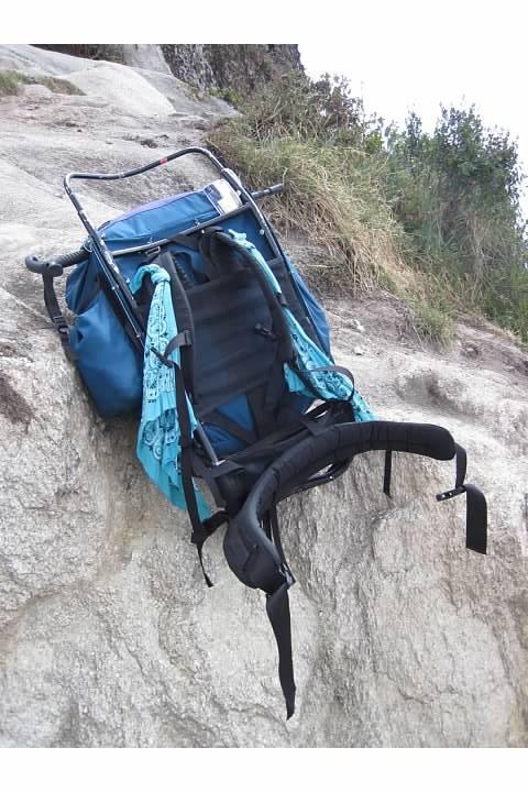 Rachel's Kelty external frame backpack