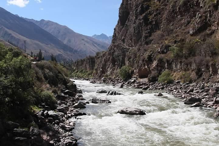 The Sacred River. Or, if you prefer, Willkanuta, Vilcanota, Urubamba or Willkamayu