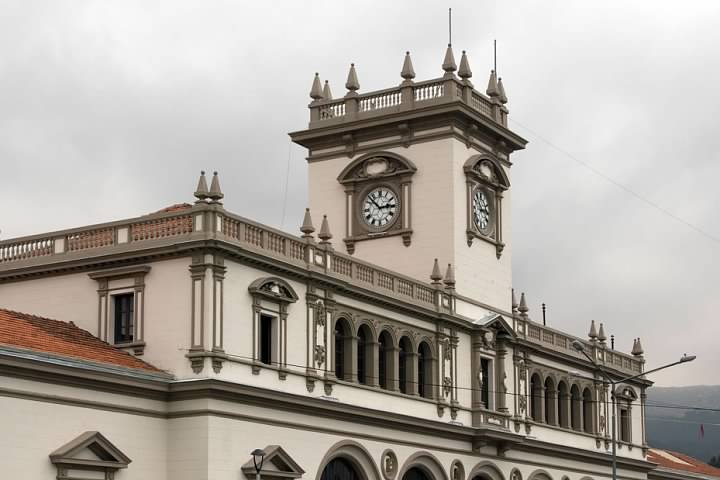 La Paz's train station is in great shape, even if it no longer hosts any rail traffic