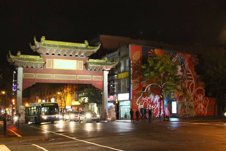 Entrance to Chinatown at Boulevard René-Lévesque/Boulevard St-Laurent