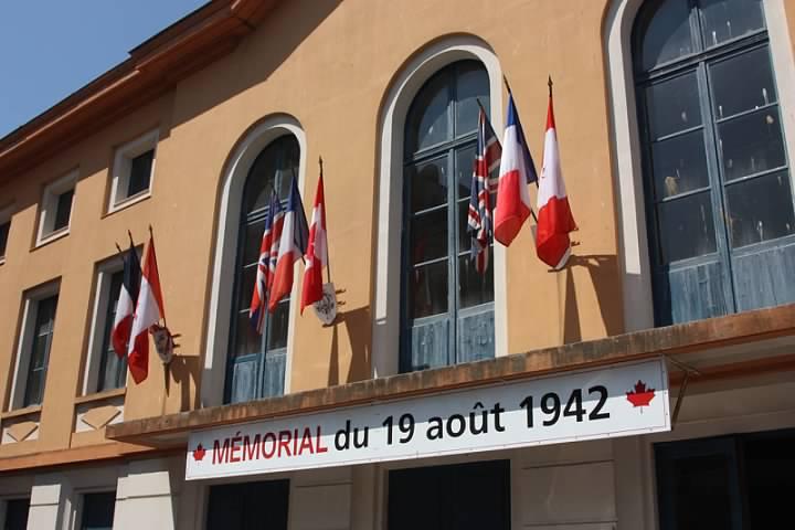 5 Dieppe Memorial du 19 auot 1942