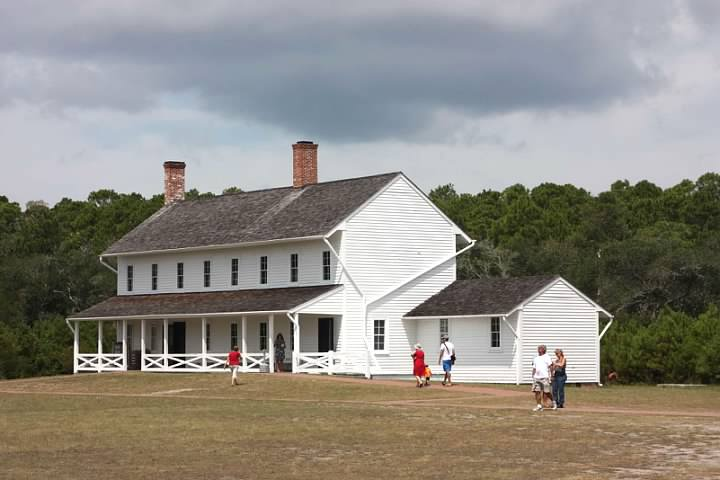Building in the Cape Hatteras Light complex