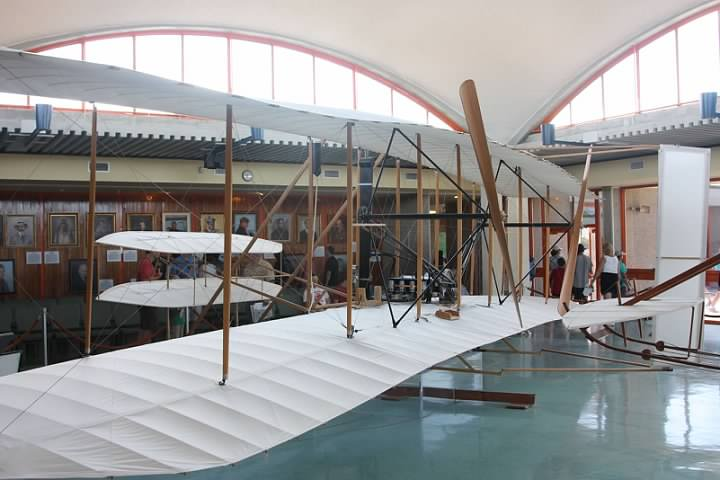 Replica of the Wright Flyer
