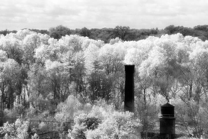 This image from 2006 was a shot from my third and final roll of Kodak High Speed Infrared 35mm film, before I purchased the modified digital camera used to make the remaining IR shots in this article