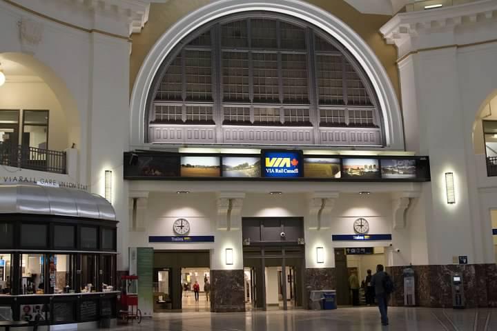 19a Winnipeg Union Station