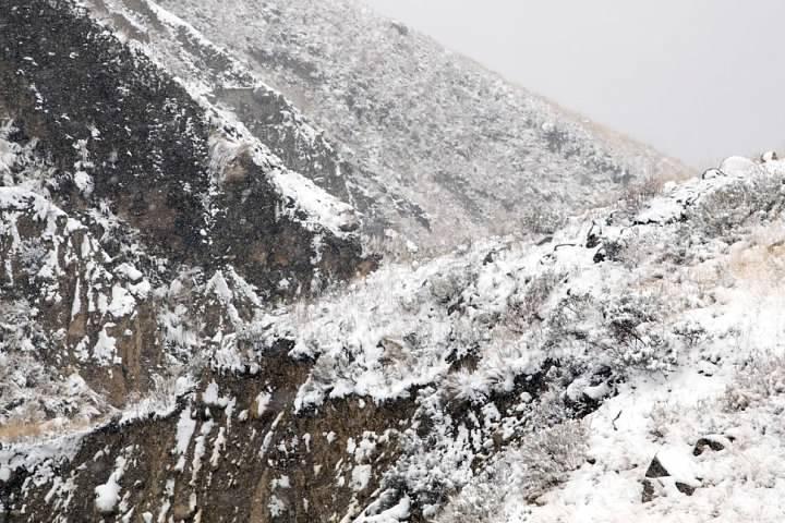 4 Snowy mountainside