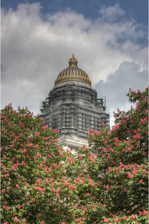 Palais de Justice/Justitiepaleis in HDR. Lowell Silverman photography, 2010