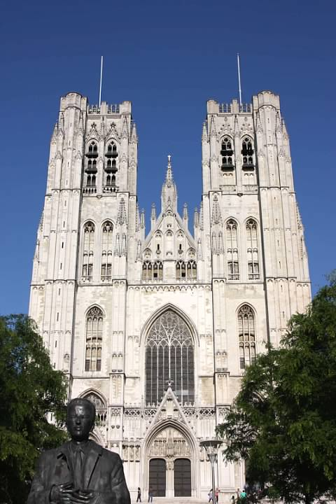 9 Cathedral of Sts-Michel-and-Gudule