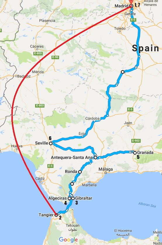 Planning a Trip to Southern Spain Plus Morocco Gibraltar