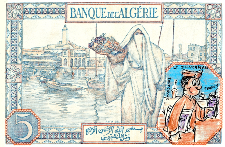 Five Francs Drawing 2 Small
